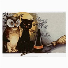 Owls 1461952 1920 Large Glasses Cloth (2 Side) by vintage2030