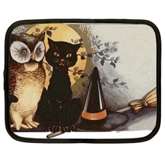 Owls 1461952 1920 Netbook Case (large) by vintage2030