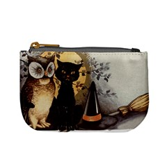 Owls 1461952 1920 Mini Coin Purse by vintage2030