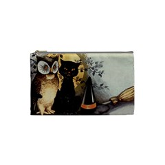 Owls 1461952 1920 Cosmetic Bag (small) by vintage2030