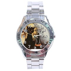 Owls 1461952 1920 Stainless Steel Analogue Watch by vintage2030