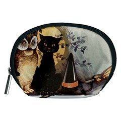 Owls 1461952 1920 Accessory Pouch (medium) by vintage2030