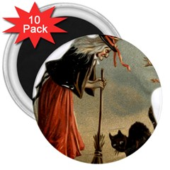 Witch 1461961 1920 3  Magnets (10 Pack)