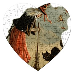 Witch 1461961 1920 Jigsaw Puzzle (heart)