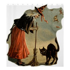 Witch 1461961 1920 Shower Curtain 66  X 72  (large)  by vintage2030