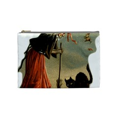 Witch 1461961 1920 Cosmetic Bag (medium) by vintage2030