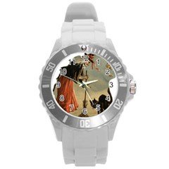 Witch 1461961 1920 Round Plastic Sport Watch (l) by vintage2030