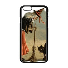 Witch 1461961 1920 Apple Iphone 6/6s Black Enamel Case by vintage2030