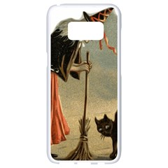 Witch 1461961 1920 Samsung Galaxy S8 White Seamless Case