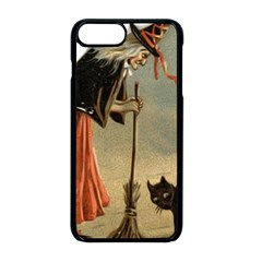 Witch 1461961 1920 Apple Iphone 8 Plus Seamless Case (black) by vintage2030