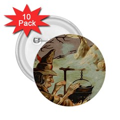 Witch 1461958 1920 2 25  Buttons (10 Pack)  by vintage2030