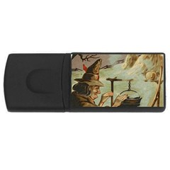 Witch 1461958 1920 Rectangular Usb Flash Drive by vintage2030