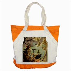 Witch 1461958 1920 Accent Tote Bag by vintage2030