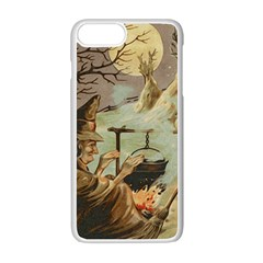Witch 1461958 1920 Apple Iphone 7 Plus Seamless Case (white) by vintage2030