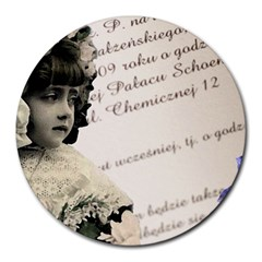 Child 1334202 1920 Round Mousepads by vintage2030
