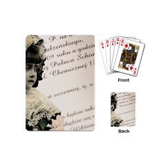 Child 1334202 1920 Playing Cards (mini)  by vintage2030