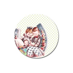Ornamental 1336128 1280 Magnet 3  (round) by vintage2030