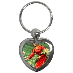 Lady 1334282 1920 Key Chains (heart)  by vintage2030
