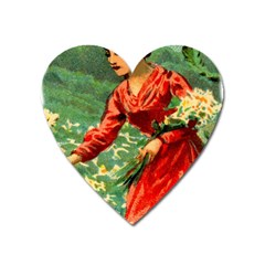 Lady 1334282 1920 Heart Magnet by vintage2030