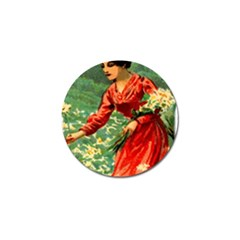 Lady 1334282 1920 Golf Ball Marker by vintage2030