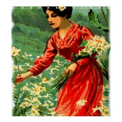 Lady 1334282 1920 Shower Curtain 66  X 72  (large)  by vintage2030