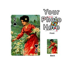 Lady 1334282 1920 Playing Cards 54 (mini)  by vintage2030