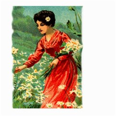 Lady 1334282 1920 Large Garden Flag (two Sides) by vintage2030