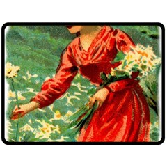 Lady 1334282 1920 Double Sided Fleece Blanket (large)  by vintage2030