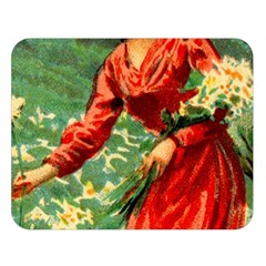 Lady 1334282 1920 Double Sided Flano Blanket (large)  by vintage2030