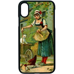 Postcard 1348470 1920 Apple Iphone X Seamless Case (black) by vintage2030