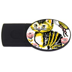 Cat 1348502 1920 Usb Flash Drive Oval (4 Gb) by vintage2030
