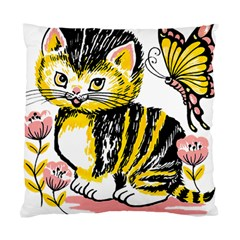 Cat 1348502 1920 Standard Cushion Case (two Sides) by vintage2030