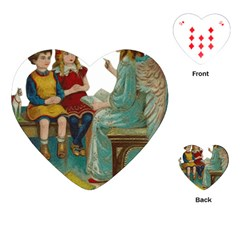 Angel 1347118 1920 Playing Cards (heart)  by vintage2030