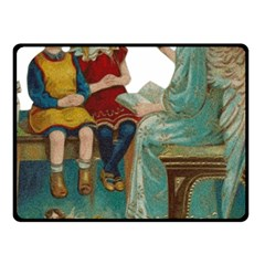 Angel 1347118 1920 Fleece Blanket (small) by vintage2030