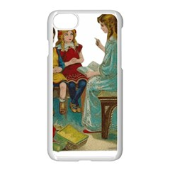 Angel 1347118 1920 Apple Iphone 8 Seamless Case (white) by vintage2030