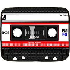 Compact Cassette Fleece Blanket (mini) by vintage2030