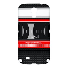 Compact Cassette Samsung Galaxy S4 I9500/i9505 Hardshell Case
