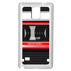 Compact Cassette Samsung Galaxy Note 4 Case (white)