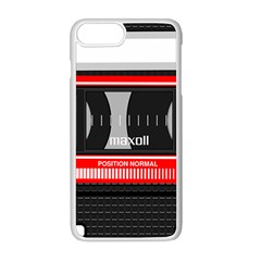 Compact Cassette Apple Iphone 8 Plus Seamless Case (white)