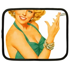 Woman 792872 1920 Netbook Case (xxl) by vintage2030