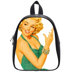 Woman 792872 1920 School Bag (small) by vintage2030