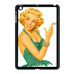 Woman 792872 1920 Apple Ipad Mini Case (black) by vintage2030