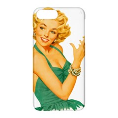 Woman 792872 1920 Apple Iphone 7 Plus Hardshell Case by vintage2030