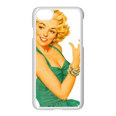 Woman 792872 1920 Apple Iphone 8 Seamless Case (white) by vintage2030