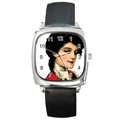 Lady 1032898 1920 Square Metal Watch by vintage2030