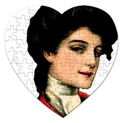 Lady 1032898 1920 Jigsaw Puzzle (heart) by vintage2030