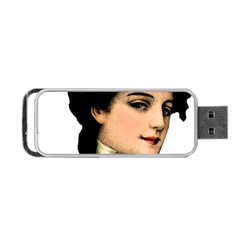 Lady 1032898 1920 Portable Usb Flash (one Side) by vintage2030
