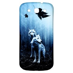 Wolfs Samsung Galaxy S3 S Iii Classic Hardshell Back Case by Valentinaart