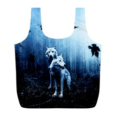 Wolfs Full Print Recycle Bag (l)