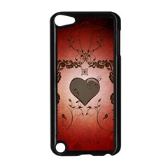 Wonderful Heart With Decorative Elements Apple Ipod Touch 5 Case (black) by FantasyWorld7